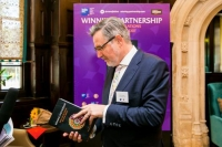 Hon  Barry Gardiner MP reviewing  Winning Partnership