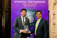 Manoj Ladwa with Nikhil Rathi LSE Plc