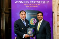 Manoj Ladwa with Lord Karan Bilimoria