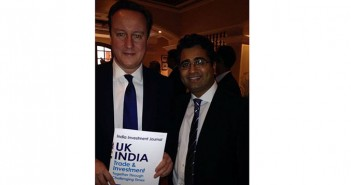 manoj ladwa with david cameron Best wishes for India Incorporated by David Cameron- With Manoj Ladwa Manoj Ladwa with Prime Minister David Cameron 351x185