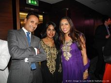 Dina ladwa With Uma kumaran the labour party The Labour Party Diwali Reception 2014 diwali ML1