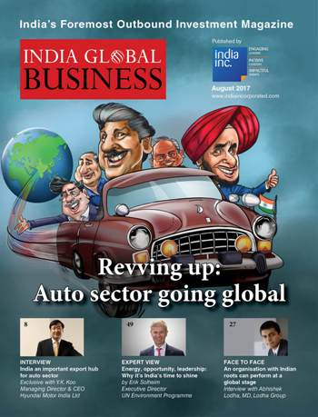India's outbound Investment Magazine IGB August Edition Final Cover small