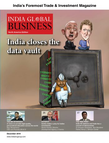 india's inbound investment magazine India Global Business North America Edition IGB NA Edition 13 December 2019 Cover e1576672834881