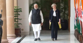 India What the UK election shocker means for India Narendra Modi With Theresa May UK 351x185