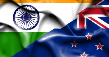new zealand India & New Zealand – the future looks bright, with much to do India New Zealand Flag 351x185