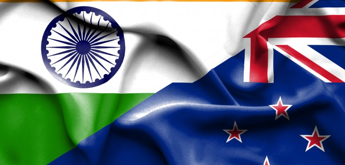 new zealand India & New Zealand – the future looks bright, with much to do India New Zealand Flag 702x336