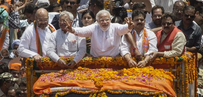 As Modi sounds the poll bugle for 2019, the gloom-mongers start to work overtime PM Narendra Modi at Varanasi campaign 702x336