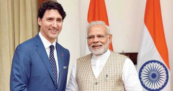 A Grizzly In The Room justin trudeau with Narendra modi 470 351x185
