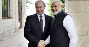 Reset with Russia? Narendra Modi with Russian PM Putin 351x185