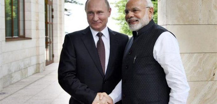 Reset with Russia? Narendra Modi with Russian PM Putin 702x336