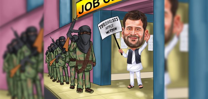 Rahul Gandhi's assessment of Islamic State is Irresponsible & Bizarre Rahul Gandhi Illustrator 702x336