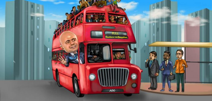 Sajid, smart young Indians must be encouraged to jump on the Global Britain bus Sajid smart young Indians must be encouraged to jump on the Global Britain bus 702x336