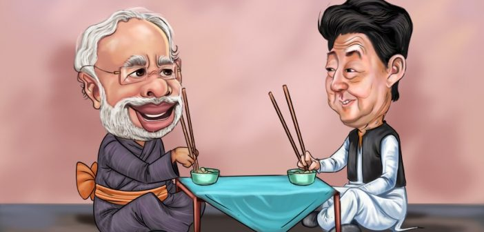 japan Chopstick Diplomacy: Decoding the Modi-Abe equation India and Japan offer the world a new paradigm in development 702x336