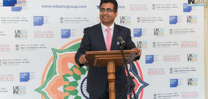'UK-India Week 2019 is about setting the pace for an exciting new innings' Manoj Ladwa Speech 702x336