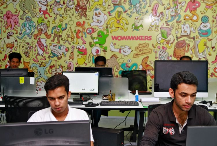 The promise of youth. Tech professionals work on their computer terminals at the Start-up Village in Kinfra High Tech Park in the southern Indian city of Kochi. Young India is highly aspirational and tech-savvy and sees the world as its oyster.Courtesy: Reuters  Immigration policies will play a big role if US, UK are to maintain global leadership INDIA TECHVILLAGE