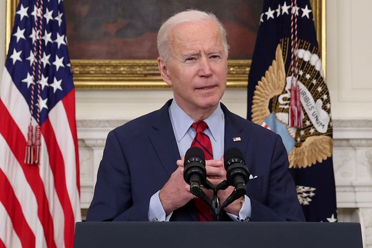 A file photo of US President Joe Biden speaking to the media. The US and UK administrations are showing a will towards streamlining their immigration systems, especially with relation to India.Courtesy: Reuters  Immigration policies will play a big role if US, UK are to maintain global leadership USA BIDEN
